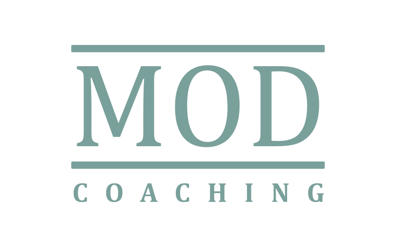 MOD Coaching logo - Design: Peter Daniel Olsen