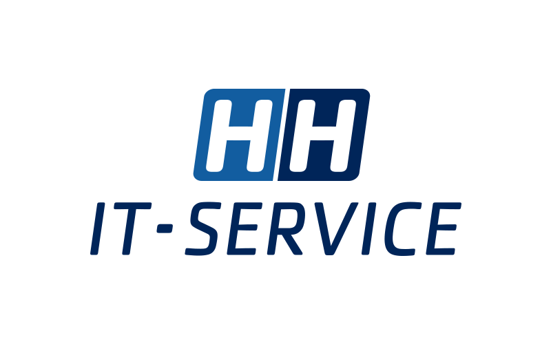 Logo design til HH it service
